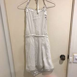 White Billabong Dress