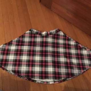 SWS Plaid Skirt