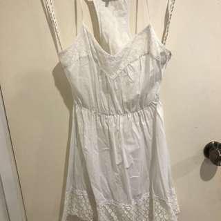 MissShop White Lace Dress
