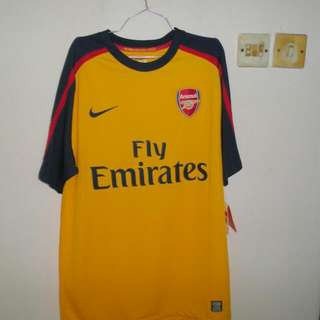 Arsenal Away Jersey Player Issue 2008/2009
