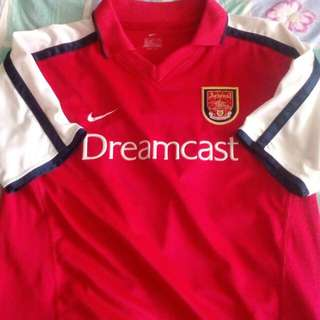 Arsenal Dreamcast Home Jersey 2000-2002