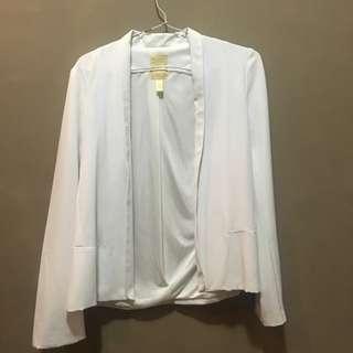 kivee blazer white