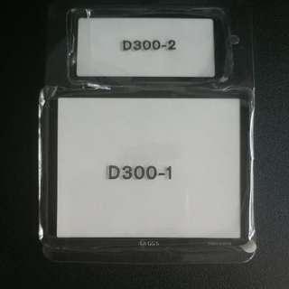 Glass LCD Protector For Nikon D300 DSLR