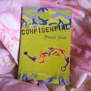 Camp Confidential Grace's Twist By Melissa J. Morgan