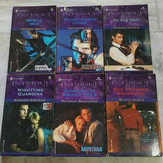 Harlequin Intrigue Books