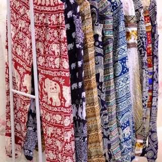 泰國大象寬鬆褲