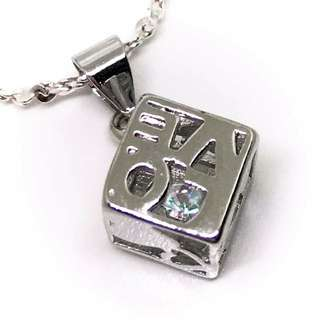 Heart Cubed Necklace