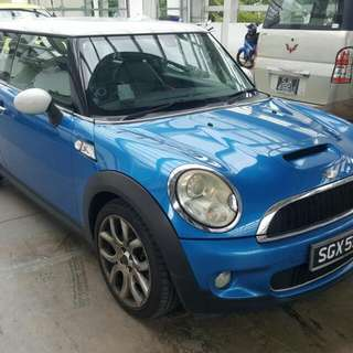 MINI COOPER S 1.6(A)TURBO 07/08 TIP TOP CONDTION (BEST PRICE IN TOWN) (MERDEKA SALE!!!) (MERDEKA SALE!!!) (MERDEKA SALE!!!)