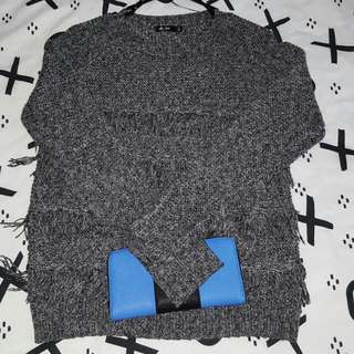 Mix Long Knitted Tops