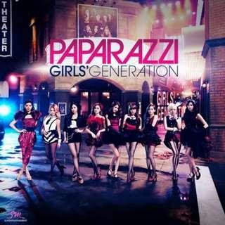 SNSD - Paparazzi Single (Japanese)