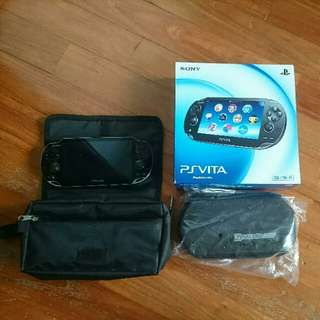 PS VITA 1000 Black 3G + WIFI w 32GB Memory Card