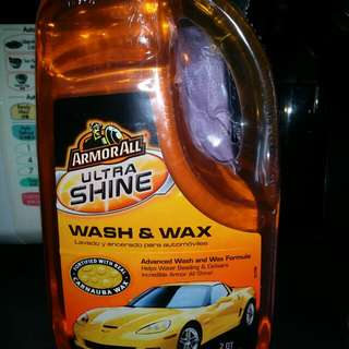 ArmorAll 'Ultra Shine' Wash And Wax