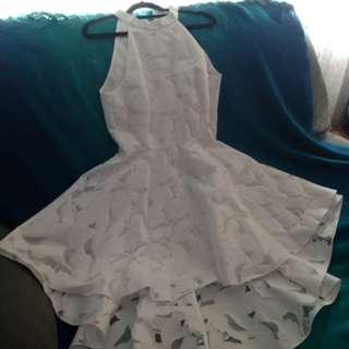 Forever New White Dress (BNWT)