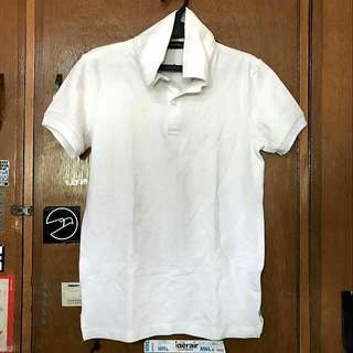 Folded And Hung Polo Shirt White