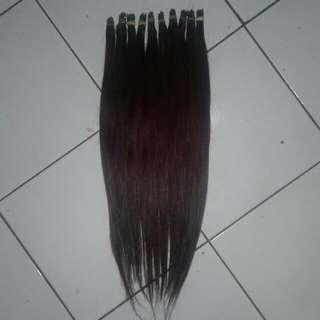 Rambut Sambung 100% Asli Rambut Manusia