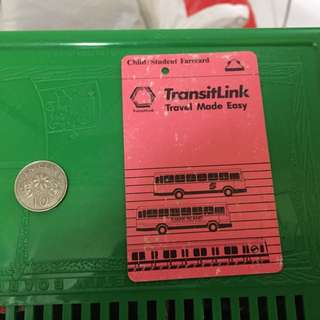First Generation Transitlink Fare Card For Students Kids