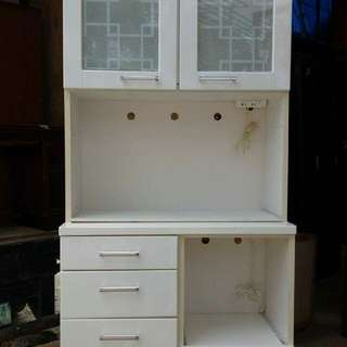 2 doors with drawers kitchen cabinet