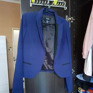 Blazer Navy Blue - Body By VICTORIA