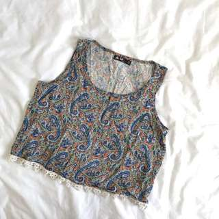 Chicabooti Cropped Top