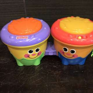 Fisher Price Kids Musical Drums