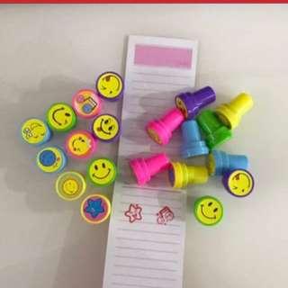 Happy Stamp - Fun For Party Goodie, Goody Bag, Door Gift