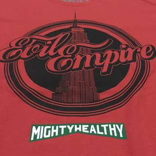 Brand New Mighty Healthy Evil Empire Tshirt Large Streetwear
