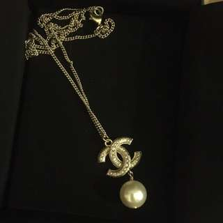 Chanel Pearl Necklace AUTHENTIC