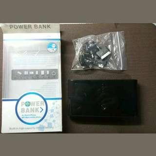 50,000mah PORTABLE EXTERNAL BATTERY POWERBANK-BLACK