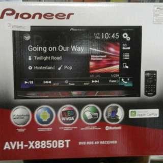 Pioneer AVH-X8850 BT