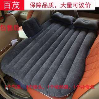 Car Travel Inflatable Airbed Camping Sleep Pillow