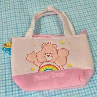 🆕出清降價🔉Care Bears 🌈彩虹熊 拉鍊 包