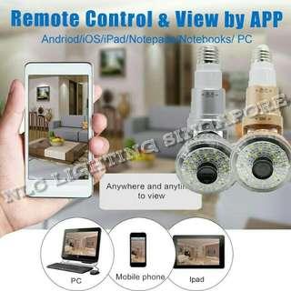 I smart WIFI Bulb IP Camera