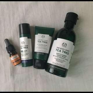Body Shop Tea Tree Set