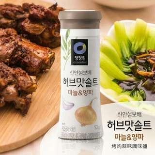 韓國清淨園洋蔥蒜味調味鹽