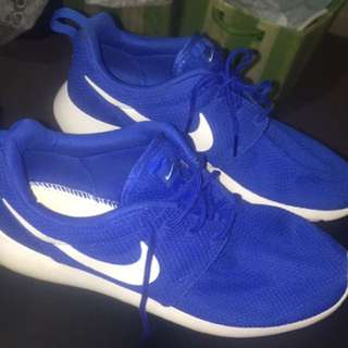 Royal Blue Nike Rosche Men US 9