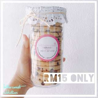 Premium Chocolate Chips Butter Cookies
