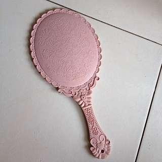 Beauty Makeup Mirror In Pink