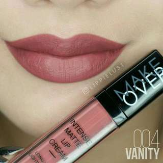 Makeover Intense Matte Lip Cream Vanity