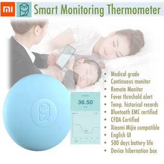 (Temporarily out of stock) Baby Monitoring Thermometer   Baby Temperature Monitor   Smart Digital Thermometer   Remote Monitoring