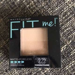 Maybeline Fit Me Face Powder