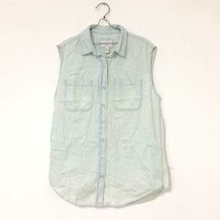 Forever 21 Semi Jeans Top