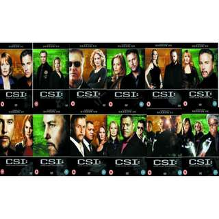 CSI : Las Vegas Season 1 to 12