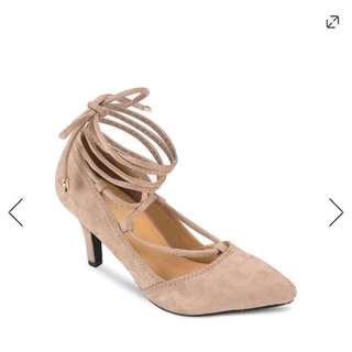 Zalora Stripped Mid-Heels