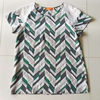 Prism Patterned Blouse
