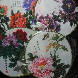 中式褂扇 Diy 材料