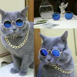 土豪眼鏡(藍色)