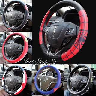 Super Hero Leather Steering Cover