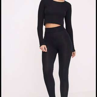 PRETTYLITTLETHING HIGH WAISTED TIGHTS