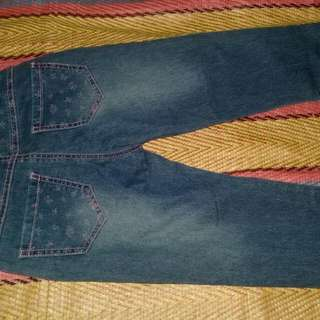 Denim Pants Fit To 3-5 Years Old