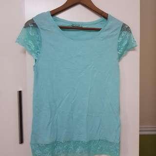Terranova Maglietta Teal T Shirt S